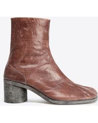 Maison Margiela Tabi Ankle Boots - Brown