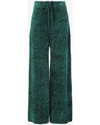 Maison Margiela Lurex Trousers - Green