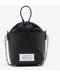Maison Margiela 5ac バケットバッグ - ブラック