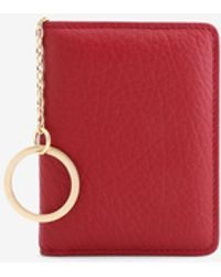 Maison Margiela Keyring Wallet - Red