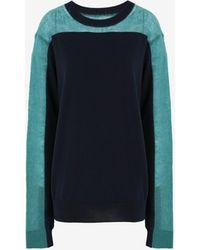 Maison Margiela - Spliced ニット セーター - Lyst