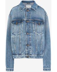 Maison Margiela オーバーサイズ リサイクル デニム ジャケット - ブルー