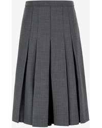 Maison Margiela Spliced Culottes Skirt - Grey
