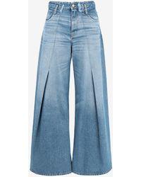 Maison Margiela Pintuck Flared Jeans - Blue
