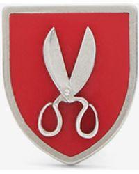 Maison Margiela クラフツマンシップ ブローチ - レッド