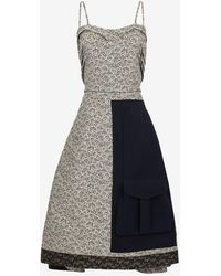 Maison Margiela Spliced ドレス - ブラック