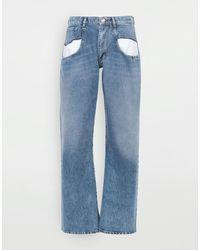 Maison Margiela - ストレートジーンズ コントラストポケット付き - Lyst