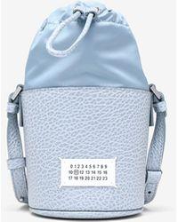 Maison Margiela 5ac マイクロ バケットバッグ - ブルー