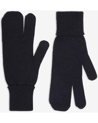 Maison Margiela Tabi Gloves - Blue