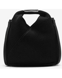Maison Margiela Japanese Crossbody-Bag aus Netzstoff - Schwarz