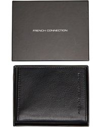 French Connection Card Holder Portemonnee Zwart