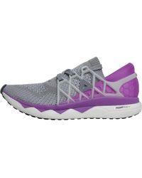 7de259efea0 Reebok - Floatride Run Ultraknit Neutral Running Shoes Light Grey  Heather medium Grey Heather