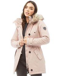 ONLY Iris Parka Jacke Rosa - Pink