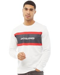 Jack & Jones Sweat Shake Blanc