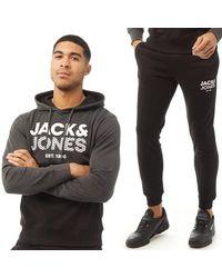 Jack & Jones Survêtement de Jogging Miller Multicolore - Gris