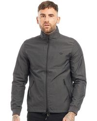 Fred Perry Tonal Sport Jacket Anchor Grey