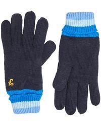 Farah Furzton Handschoenen Marineblauw