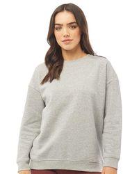 Brave Soul - Cimba Sweatshirt Grey Marl - Lyst