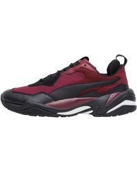 PUMA Thunder Spectra Sneakers Burgunderrot - Mehrfarbig