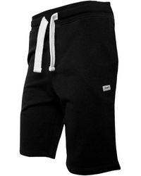 Produkt Basic Sweat Shorts Black - White
