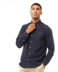 U.S. POLO ASSN. Core Oxford Shirt Navy Blazer - Blue