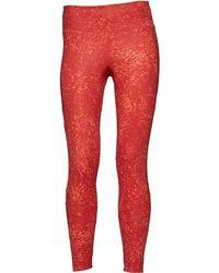 f206e7b665ff0b adidas Techfit Base Climalite Capri Leggings Easy Coral/glow Orange ...