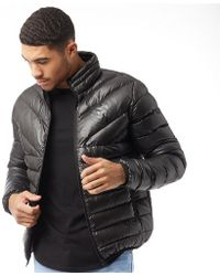 0d6088f6c151f Gym King - Reign Quilted Jacket Black - Lyst