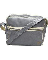 Fred Perry Sac de Messager Gris