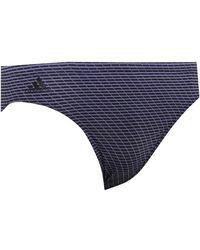 adidas 3 Stripes Graphic Performance Swim Trunks Raw Indigo/black - Blue