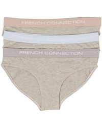 French Connection Slip Gris Chiné