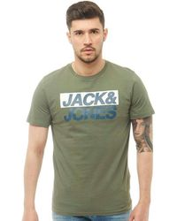 Jack & Jones - Troll T-shirt Thyme - Lyst