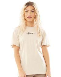 Bench Abelia T-shirt Light Sand - Natural