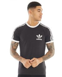 adidas Originals - Essentials California T-Shirt Schwarz - Lyst