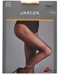 Jaeger One Pack Sheer Tights 20 Denier Natural Tan - Multicolour