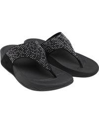 385db0ee2 Lyst - Women s Fitflop Flat sandals Online Sale