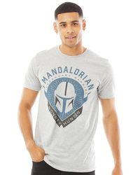 Star Wars Bounty Hunter T-Shirt Hellgrau