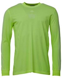 adidas Originals - X Alexander Wang Bleach Long Sleeve Shirt Semi Solar Yellow - Lyst