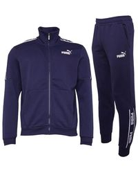 PUMA Amplified Trainingspak Marineblauw