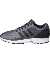 adidas Originals - Zx Flux Trainers Onix/core Black/white - Lyst