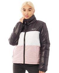 Bench Dimension Jacket Black/white/pink - Multicolour