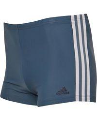 adidas 3-Stripes Swim Badeanzug Blau