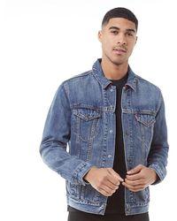 Levi's Veste en jean Trucker Denim - Bleu