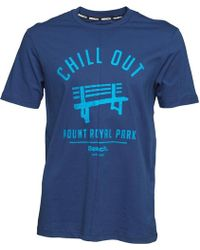 Bench - Cut & Sew T-shirt Blue - Lyst