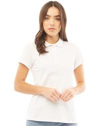 Crew Exmouth Solid Jersey Polo White