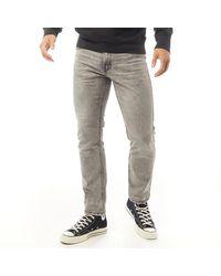 Levi's 511 Slim Jeans Vervaagd Grijs