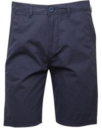 Animal Shoreline Walk Shorts Dark Navy - Blue