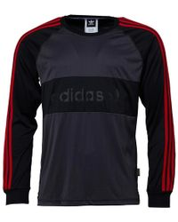 b5b0030301a Adidas Manchester United Fc Training Top Bright Red utility Black in ...