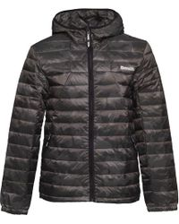Bench - Aop Down Jacket Camo - Lyst