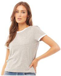 Brave Soul Tee-Shirt Rebecca Gris