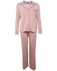 UGG Pyjamas Lenon Pyjama Set Vieux Rose